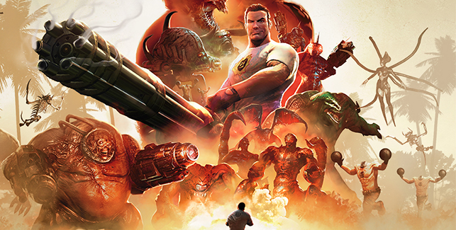Serious Sam Collection Banner Small