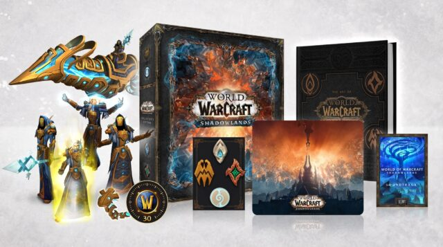 World of Warcraft Shadowlands Collectors Edition