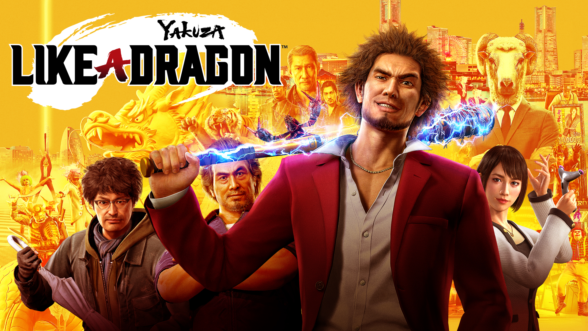 Yakuza Like a-Dragon Key Visual