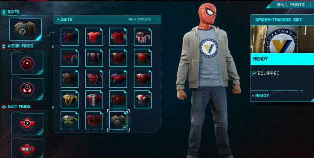 How To Unlock All Spider-Man: Miles Morales Suits