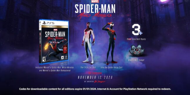 Spider-Man: Miles Morales Cheats