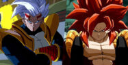 Dragon Ball FighterZ Super Baby 2 and Gogeta SS4 Banner