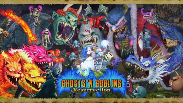Ghosts n Goblins Resurrection Key Art