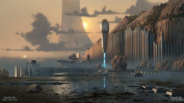 Halo Infinite Campaign Concept Art