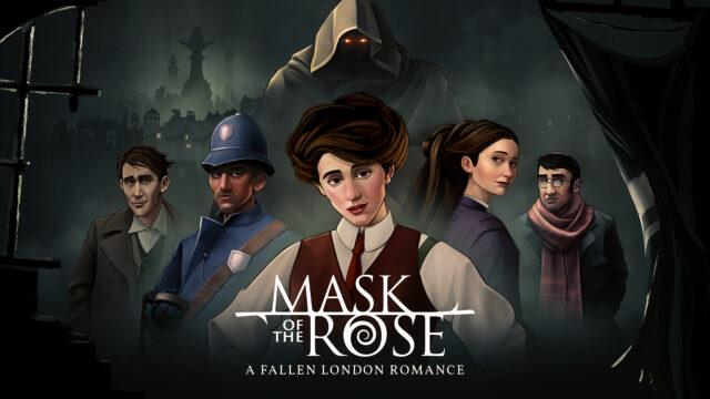 Mask of the Rose Key Art