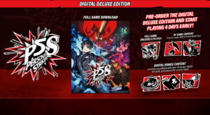 Persona 5 Strikers Digital Deluxe Edition