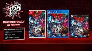 Persona 5 Strikers Promo Image