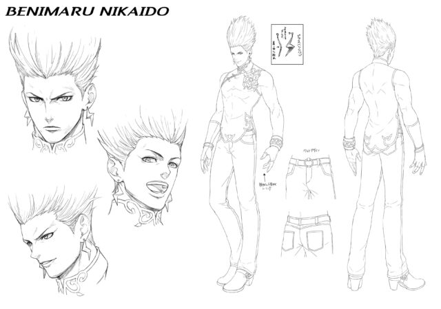 The King of Fighters XV Character Concept Art 1