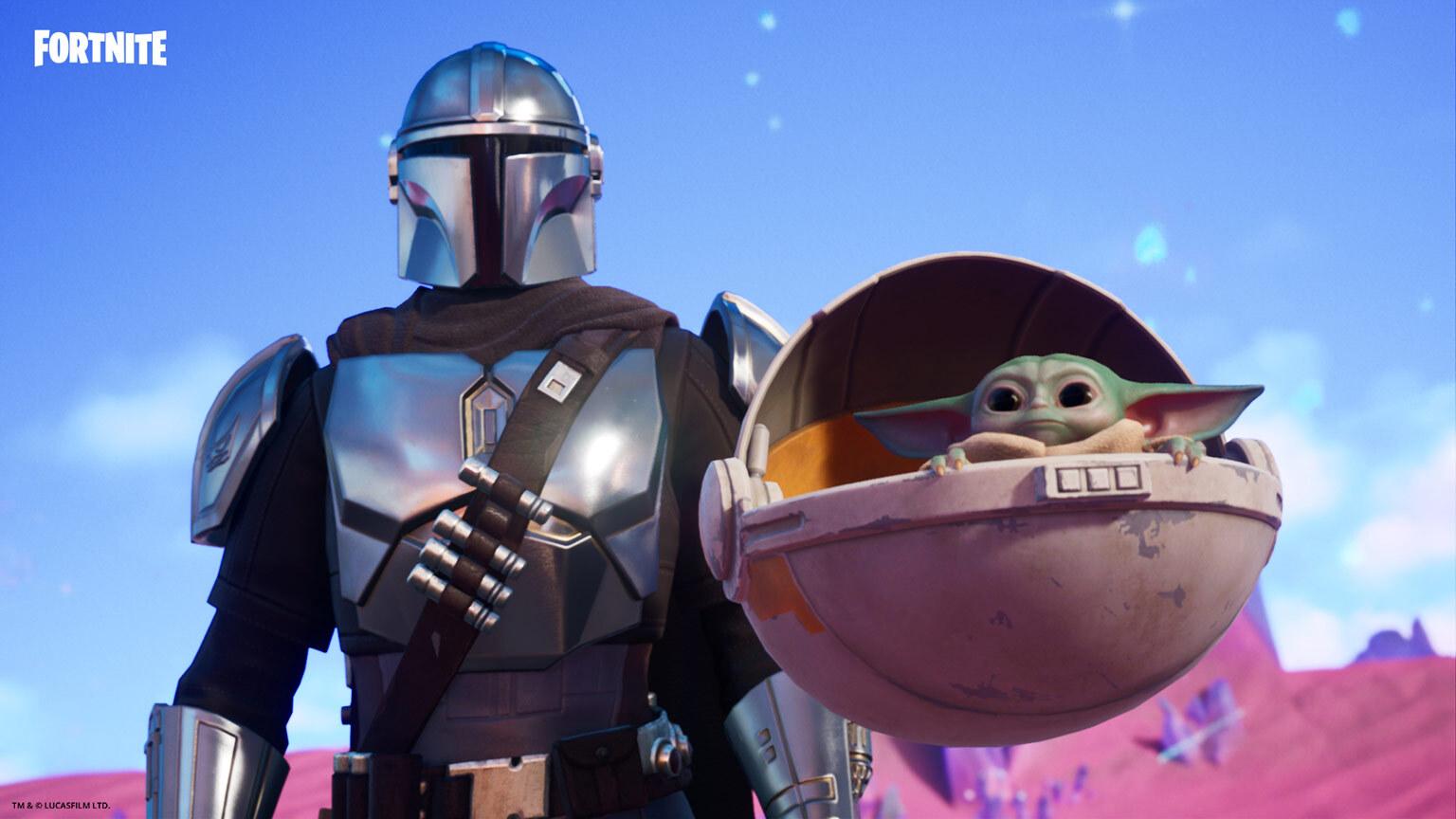 Fortnite Chapter 2 Season 5 How To Unlock Baby Yoda ...