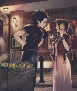 Aerith and Zack Fan Art