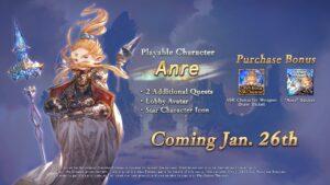Granblue Fantasy Versus Uno-Anre Coming January 26