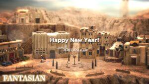 Mistwalker New Year 2021 Greeting Card