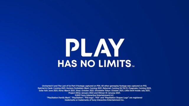 PLAY Has No Limits