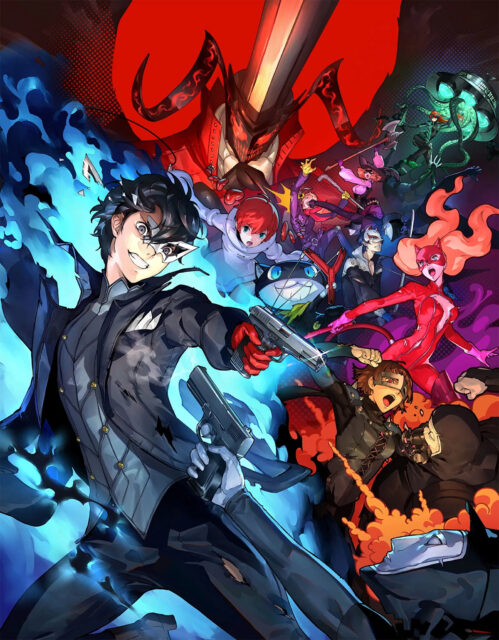 Persona 5 Strikers Key Visual