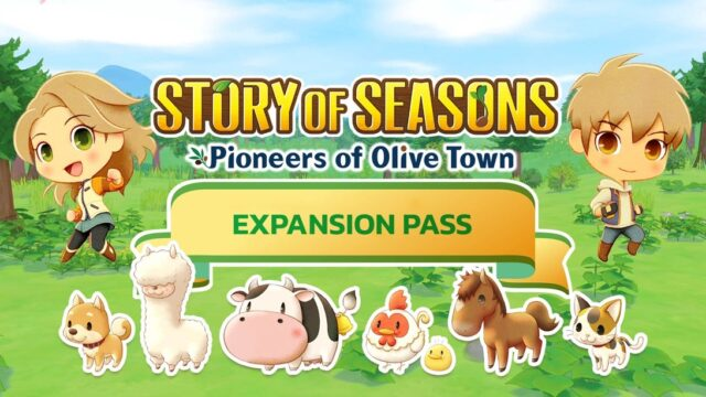 Story of Seasons Pioneers of Olive Town Expansion Pass Banner