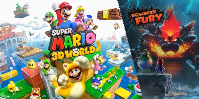 Super Mario 3D World Bowsers Fury Banner