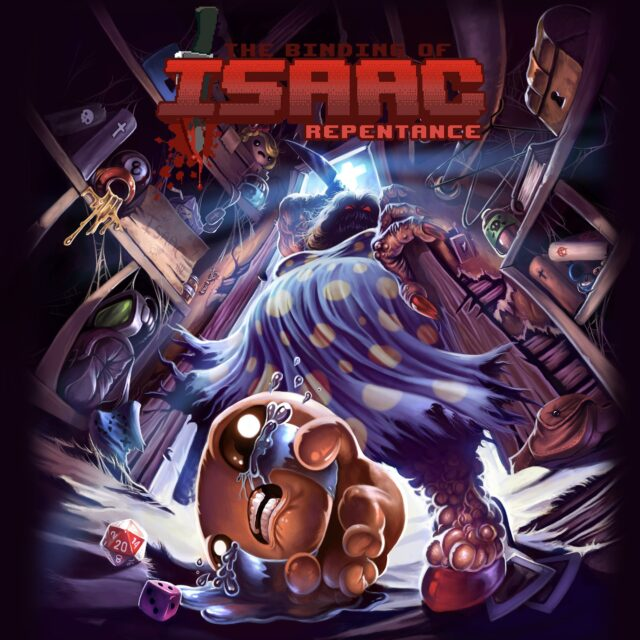 The Binding of Isaac Repentance Poster