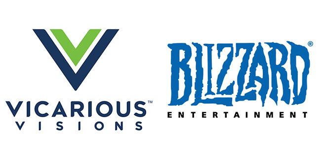 Vicarious Visions Blizzard Logos