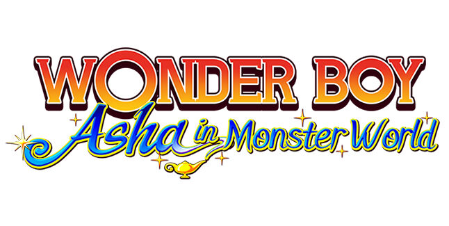 Wonder Boy Asha in Monster World Logo