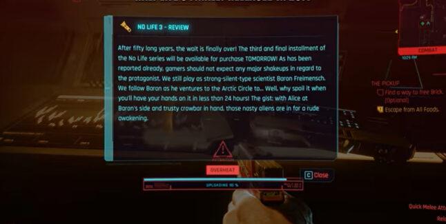 Cyberpunk 2077 Easter Eggs