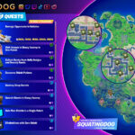Fortnite Chapter 2 Season 5 Week 7 Cheat Sheet
