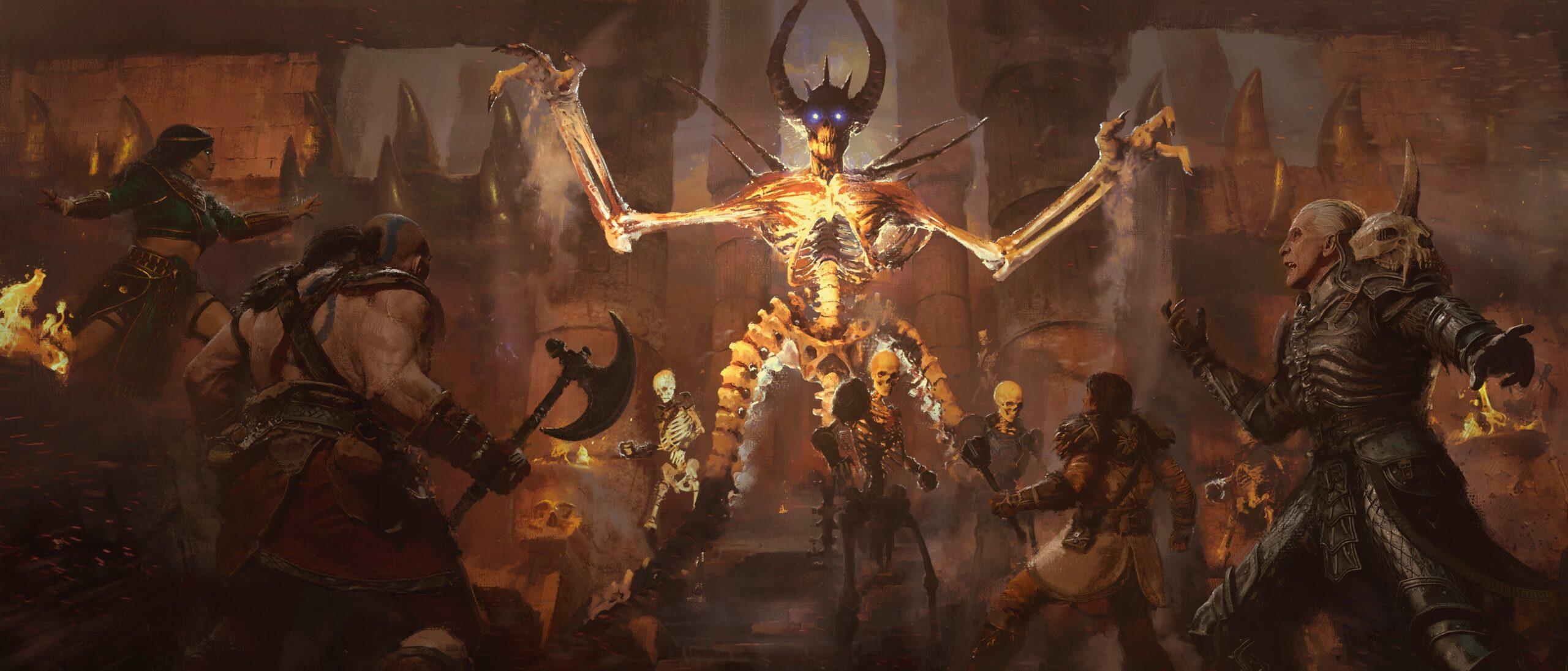 Diablo II Resurrected Concept Art