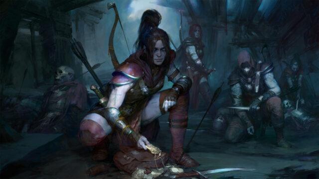 Diablo IV Rogue Artwork
