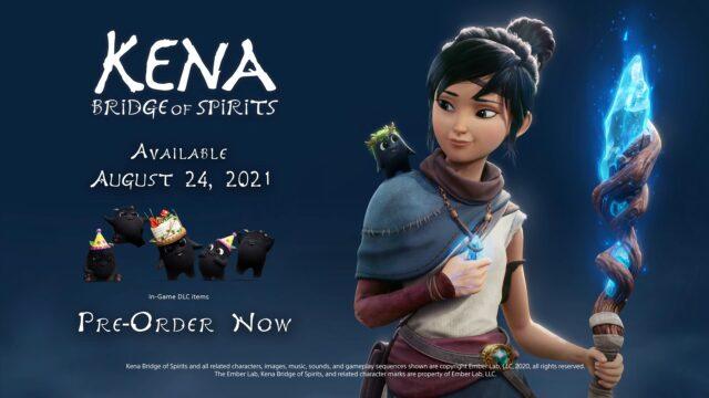 Kena Bridge of Spirits Release Date Banner