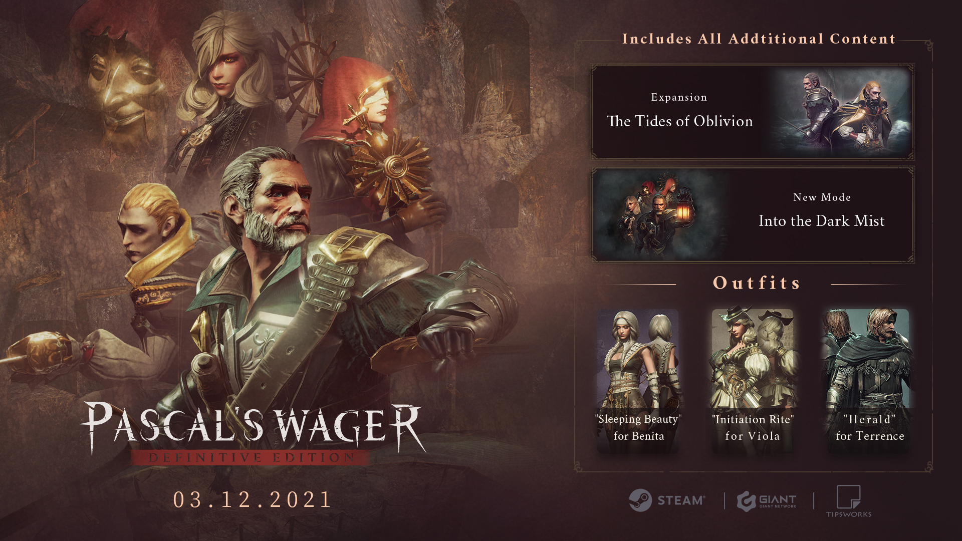 Pascal's Wager Definitive Edition Promo Image