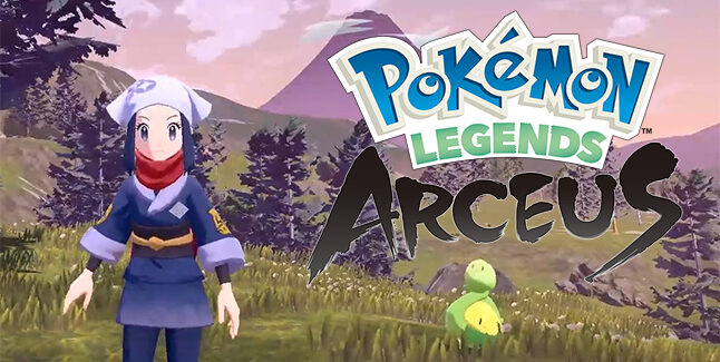 Pokemon Legends Arceus Banner