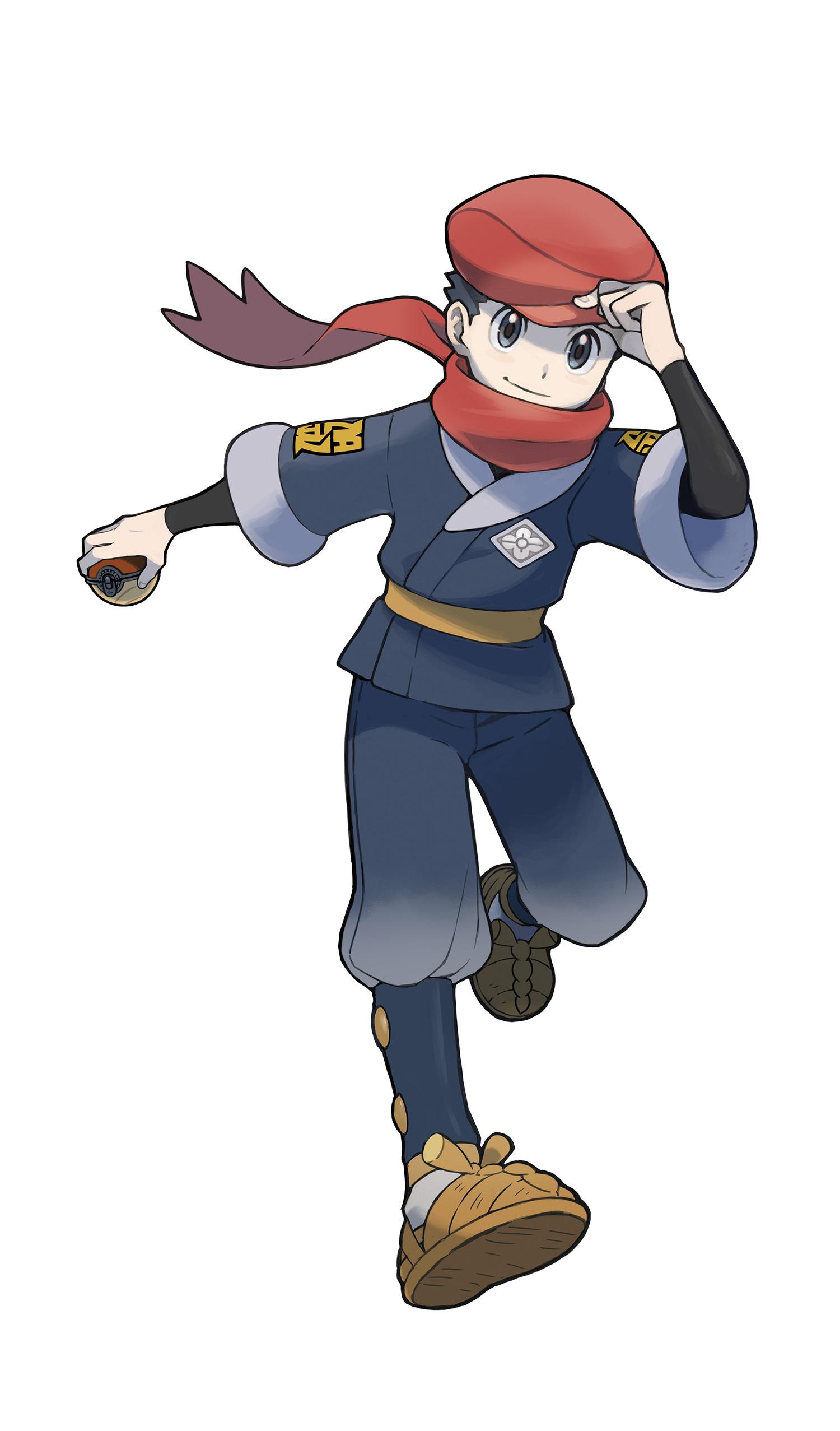 Pokemon Legends Arceus Main Character Male