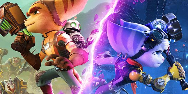 Ratchet & Clank Rift Apart Banner