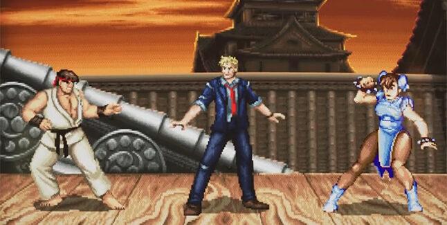 Ryu and Chun-Li Fortnite Banner