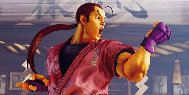 Street Fighter V Champion Edition Dan Hibiki Banner
