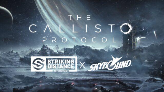 Striking Distance Skybound The Callisto Protocol Banner