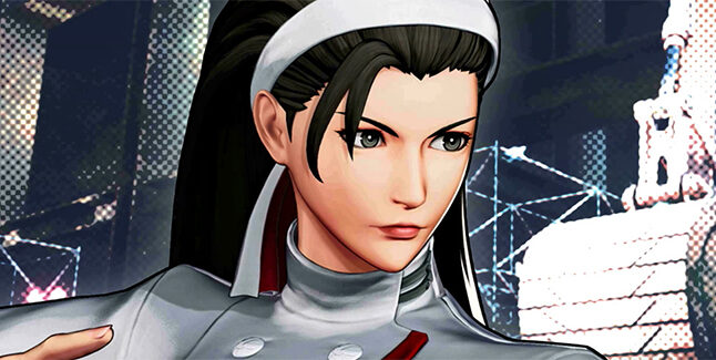 The King of Fighters XV Chizuru Kagura Banner