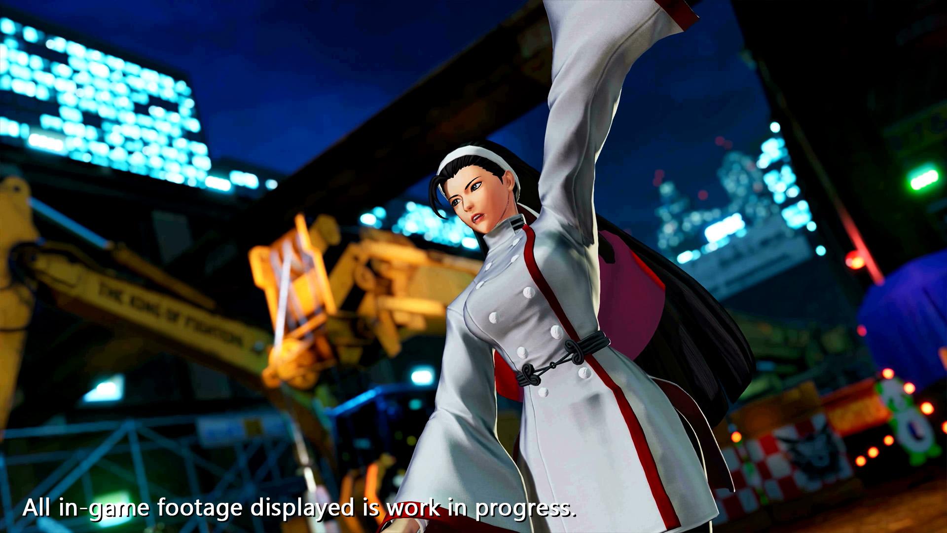 The King of Fighters XV Chizuru Kagura Screen 1