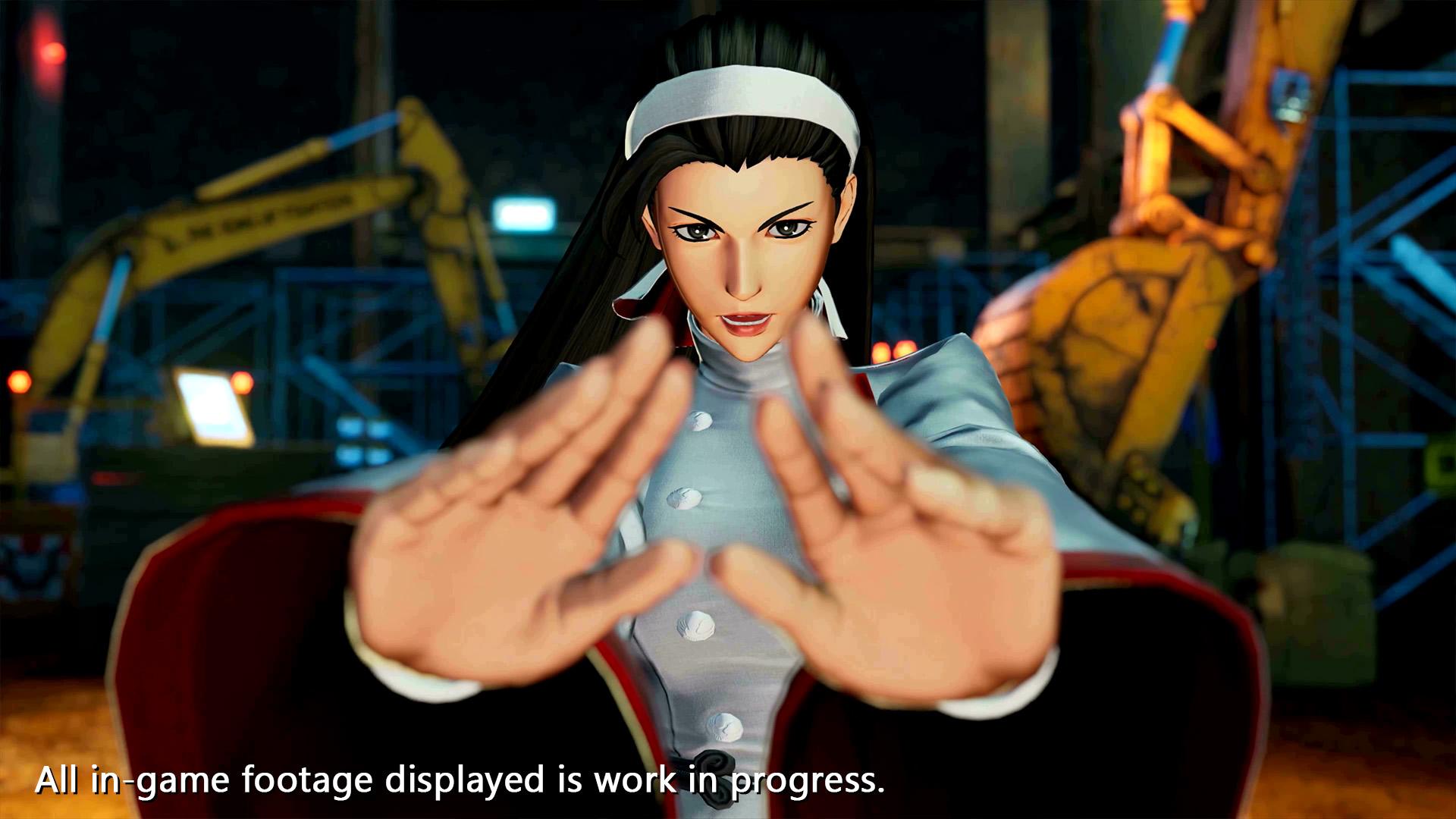 The King of Fighters XV Chizuru Kagura Screen 2