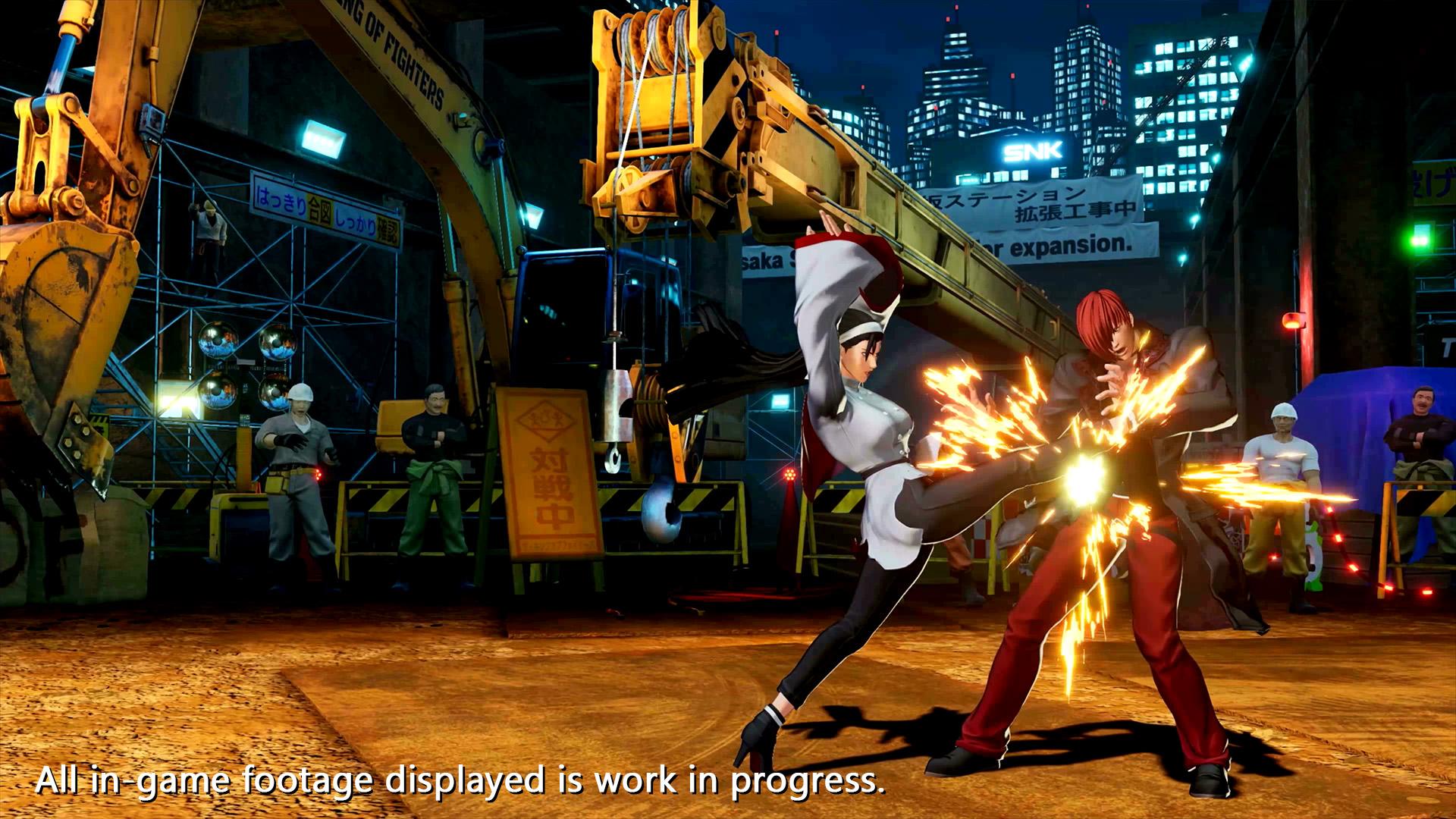The King of Fighters XV Chizuru Kagura Screen 4