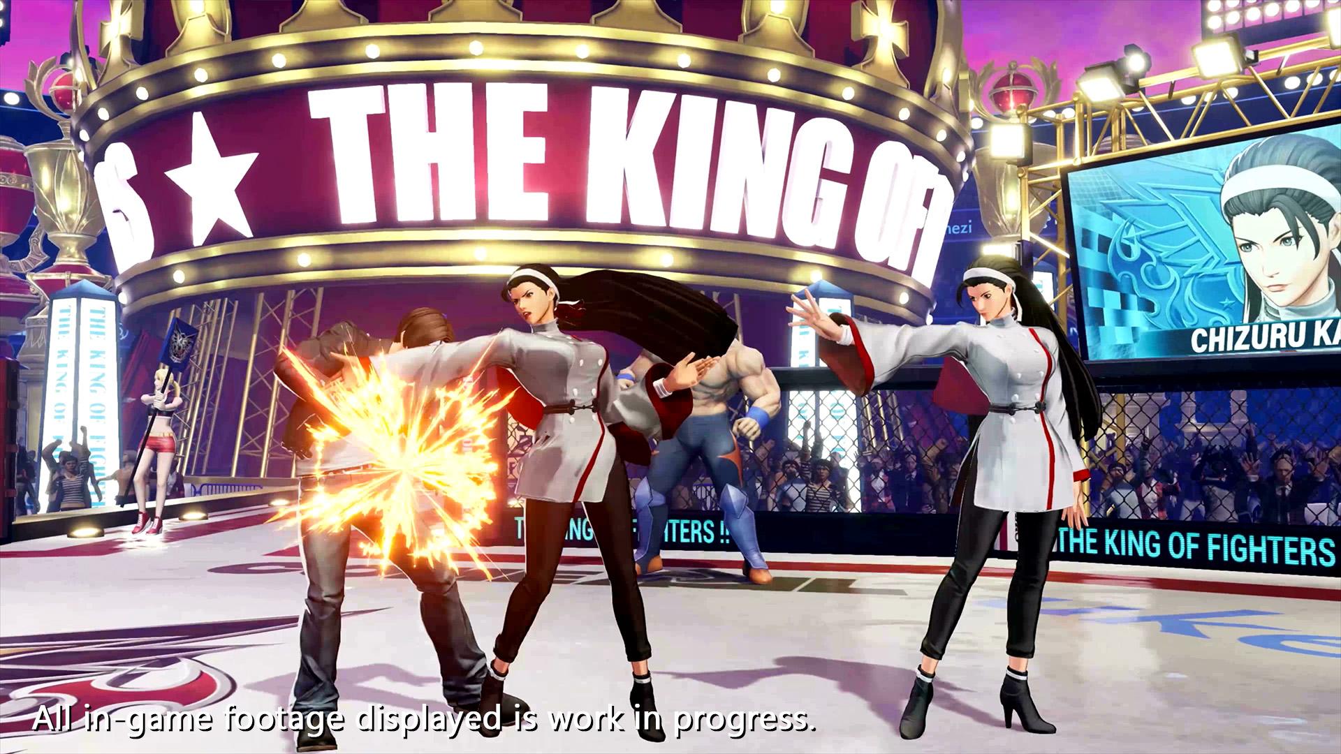 The King of Fighters XV Chizuru Kagura Screen 5