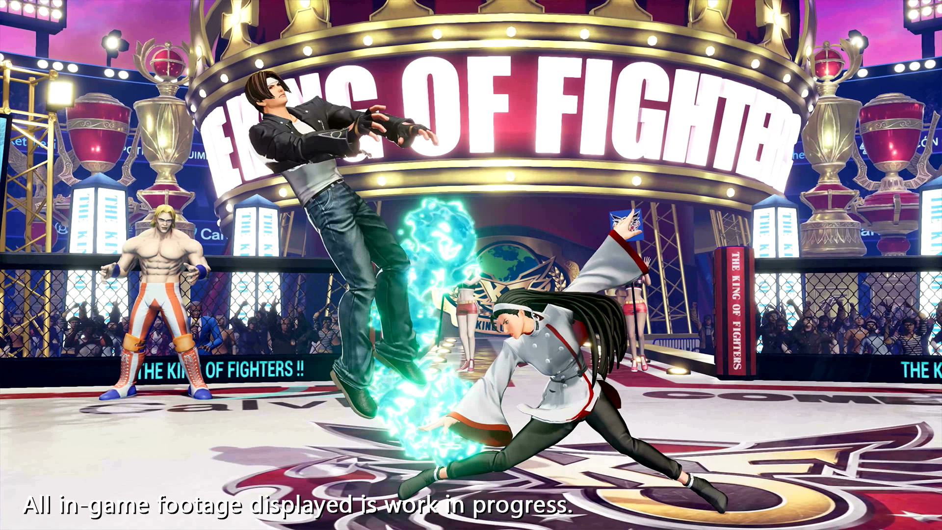 The King of Fighters XV Chizuru Kagura Screen 6