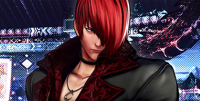 The King of Fighters XV Iori Yagami Banner