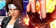 The King of Fighters XV Kyo Kusanagi Banner