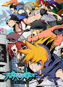 The World Ends With You The Animation New Key Visual