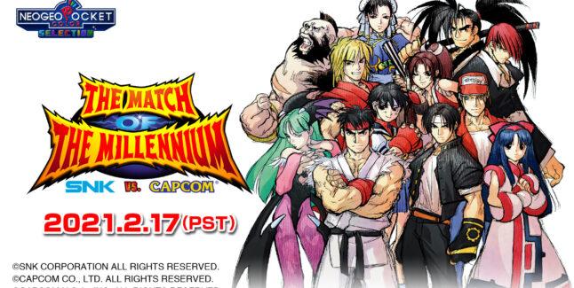 SNK vs. Capcom: The Match of the Millennium game release
