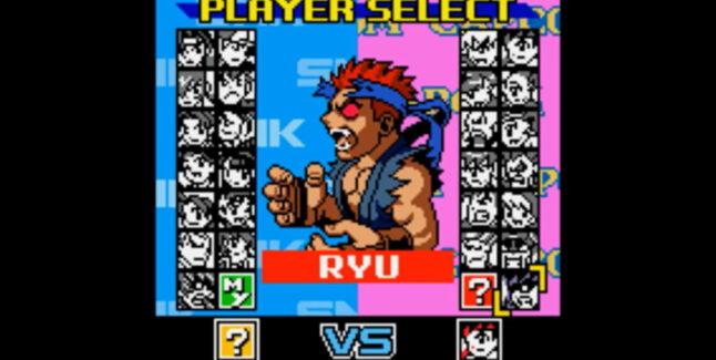 SNK vs. Capcom: The Match of the Millennium Unlockable Characters