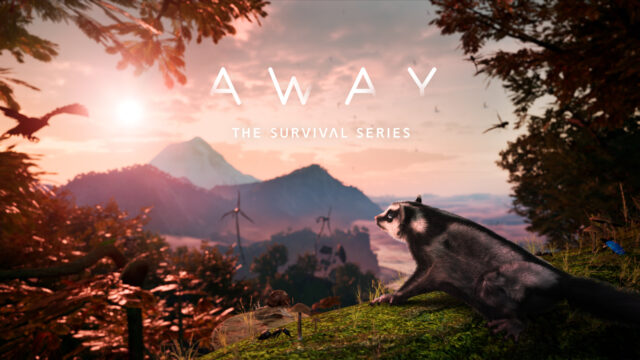 AWAY The Survival Series Key Art