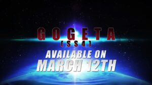 Dragon Ball FighterZ Gogeta [SS4] Available March 12