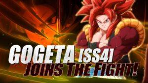 Dragon Ball FighterZ Gogeta [SS4] Banner