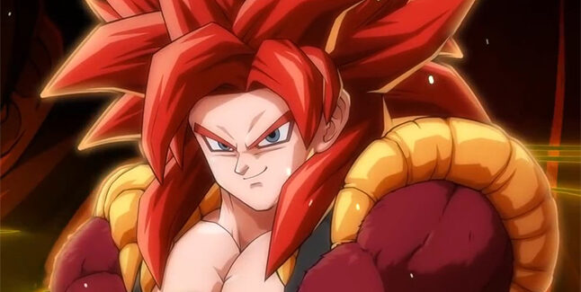 Dragon Ball FighterZ Gogeta [SS4] Banner Small